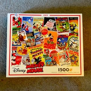 Mickey Mouse 1500 piece puzzle